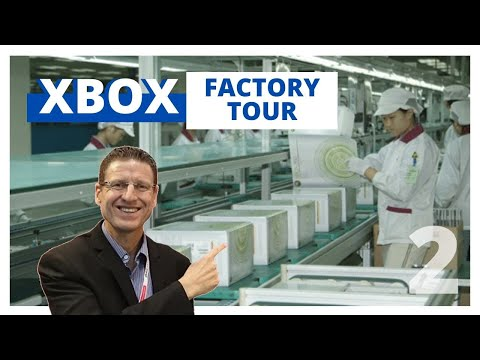 XBOX One Game Controller Factory Tour - Part 2