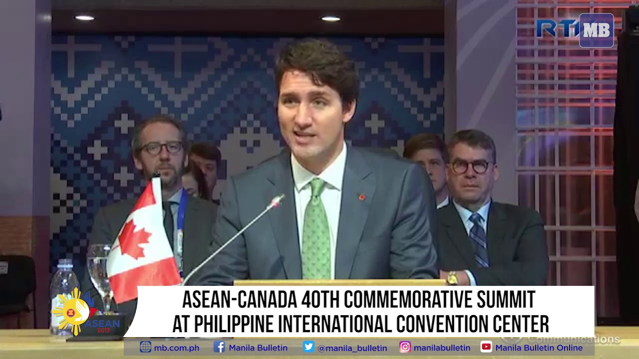 ASEAN-Canada 40th Commemorative Summit  at Philippine International Convention Center (PICC)