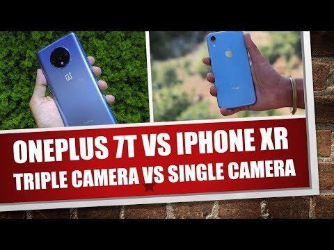 Oneplus 7t vs iphone XR camera review | Best camera smartphone under 40k?