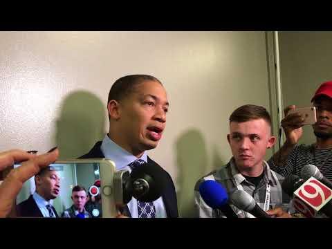 Tyronn Lue said new Cavaliers exceeding expectations