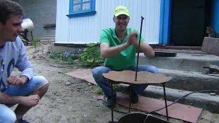 как сделать мангал из диска