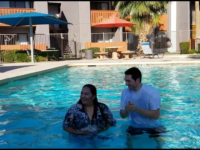 Ari's Baptism Into the Lord Jesus Christ