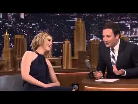 Jennifer Lawrence Interview on Jimmy Fallon 2014 Interview ...