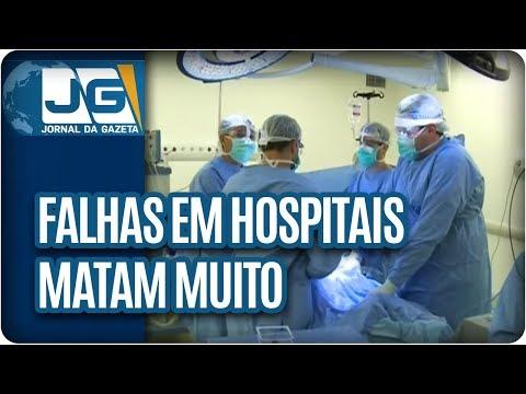 Falhas em hospitais matam muito