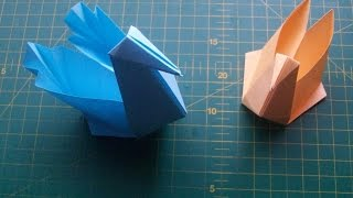 Как Сделать из Бумаги Поделки Своими Руками: Лебедь Коробочка Оригами. Origami Swan(Показываю и рассказываю, как сделать из бумаги красивую поделку своими руками. Лебедь коробочка оригами..., 2014-04-08T18:58:19.000Z)