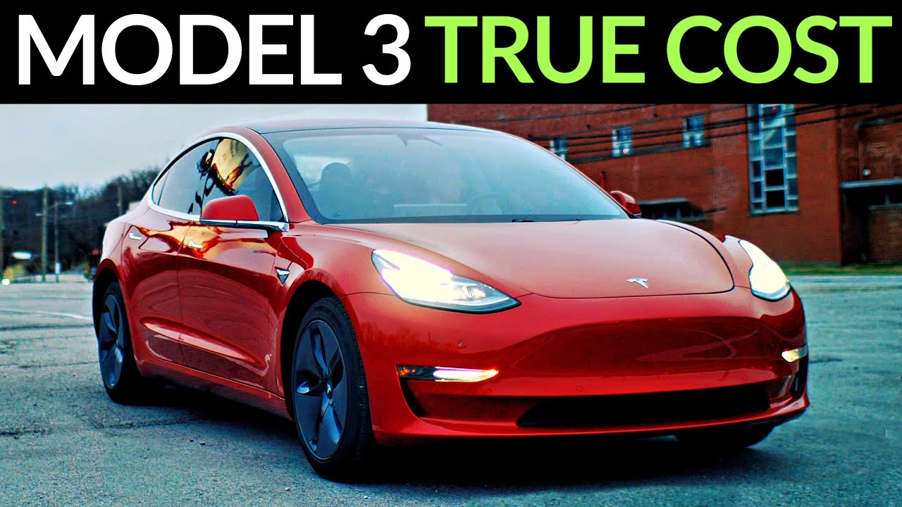 True Cost Of A Tesla Model 3 After 40 000 Miles Youtube