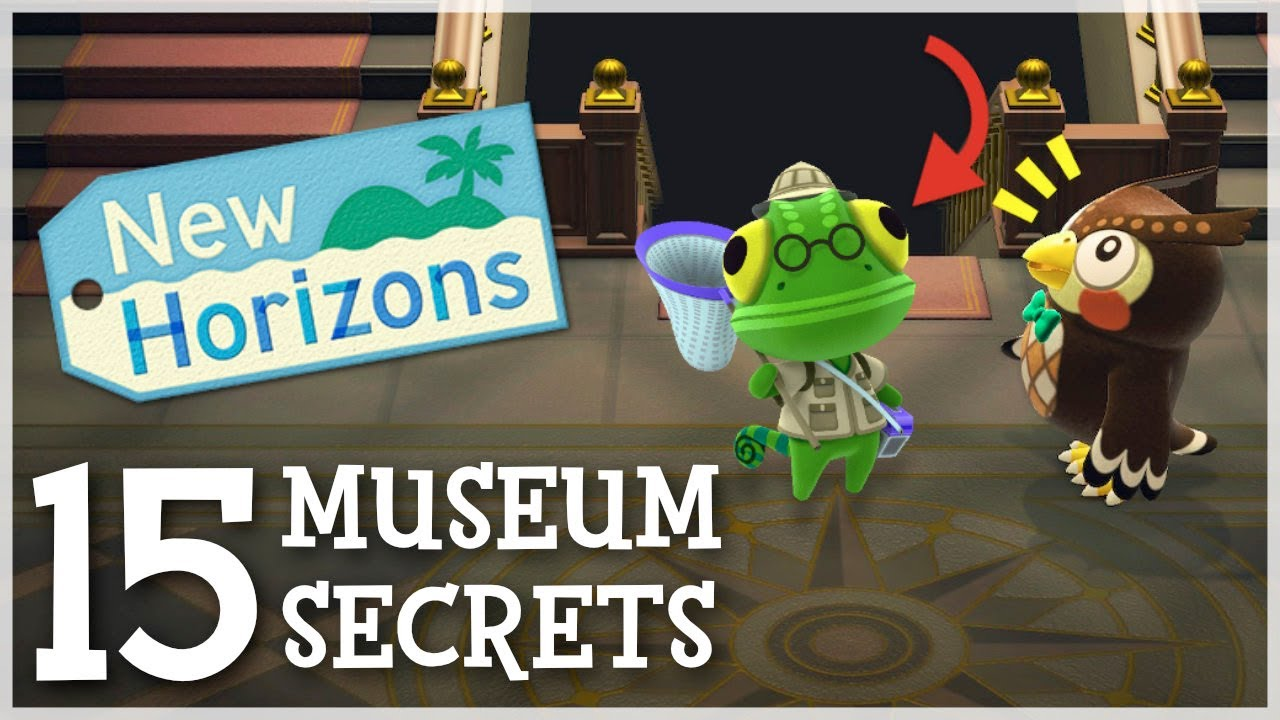 Animal Crossing New Horizons - 15 Museum SECRETS You Missed!