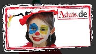 Anleitung Kinderschminken Clown