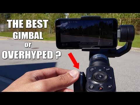 Zhiyun Smooth 4 | The BEST Gimbal Or Overhyped? | IPhone X | Manual Focus/Zoom | Video Test [4K]