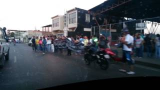 Protesta en San Fernando de Apure - GNB Arremete salvajemente