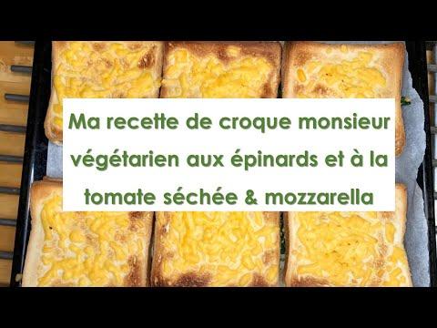 recette-de-croque-monsieur-végétarien-aux-épinards-et-à-la-tomate-séchée-&-mozzarella-#exotarien