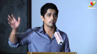 Siddharth : Karthik Subbaraj is the worst story teller | Jigarthanda press meet |