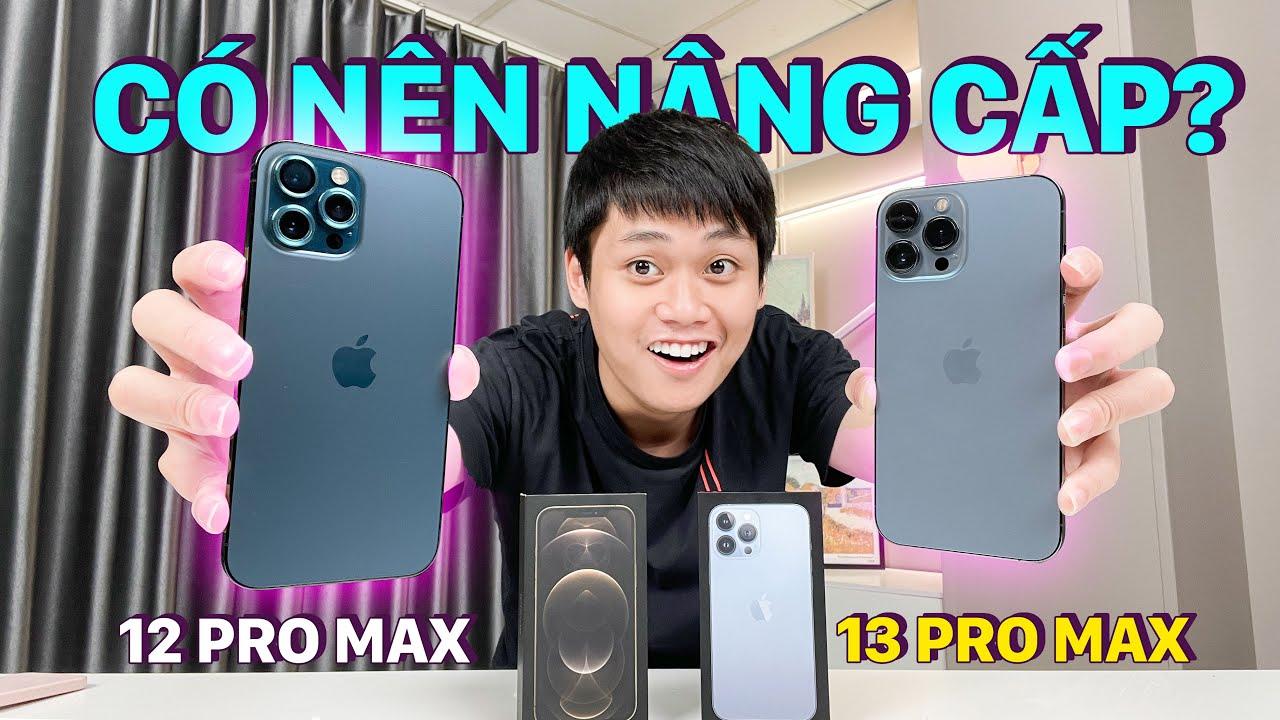 Download SO SÁNH iPHONE 13 PRO MAX VS iPHONE 12 PRO MAX: KHÔNG ĐÁNG NÂNG CẤP??