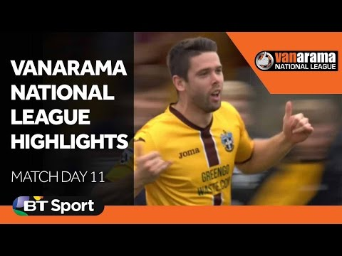 National League Highlights Show - Matchday 11