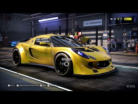 Need For Speed Heat - Lotus Exige S 2006 - Customize | Tuning Car (PC HD) [1080p60FPS]