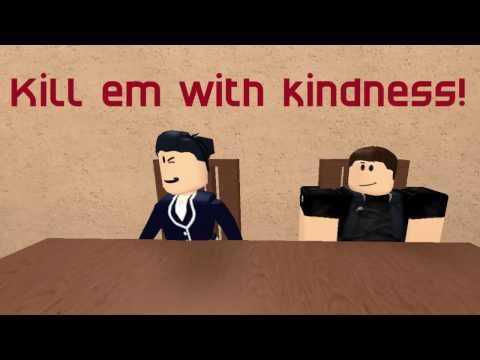 Kill em with kindness // Roblox sad story // Music Video!