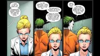 Origin of Harley Quinn (new 52)