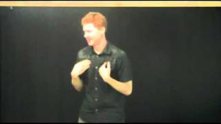 How to draw close to God 3of4 - Auslan Sermon