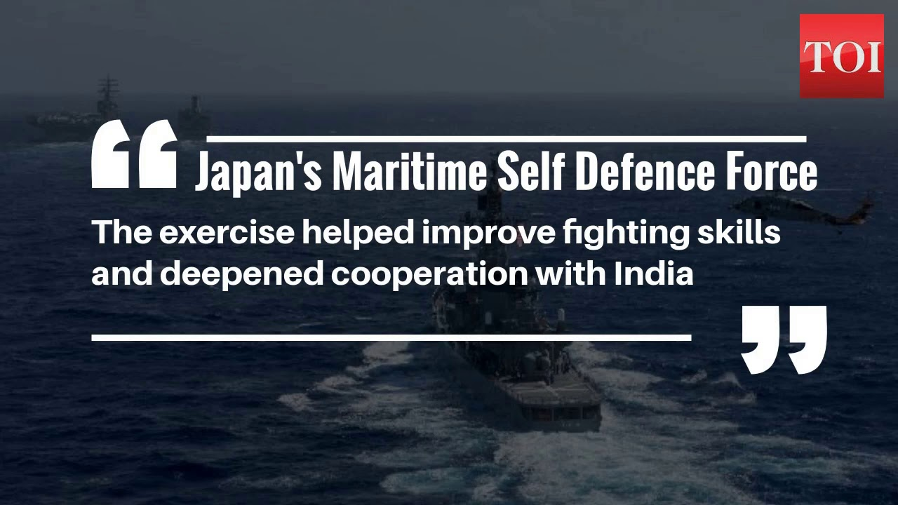 US – India – Japan joint Navy carrier drills in Sea of Japan