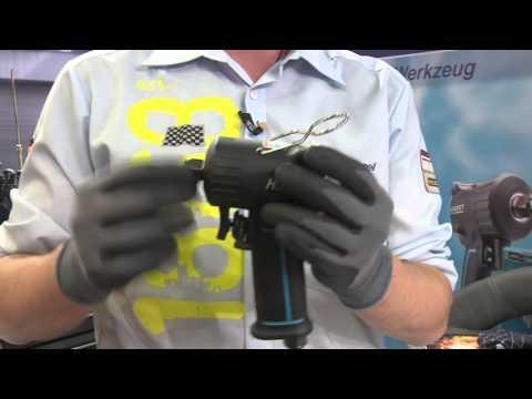 HAZET Clé à chocs extra-courte 9011 M / 9012 M ∙ Mécanisme de frappe à marteau Jumbo