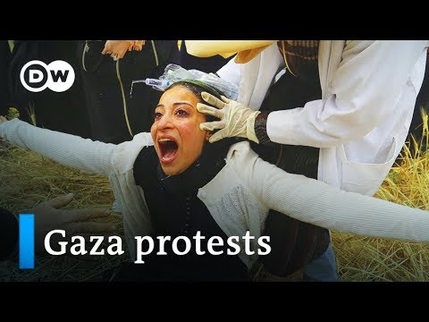 Israeli Fire Kills Two Palestinians In Anniversary Protest | DW News