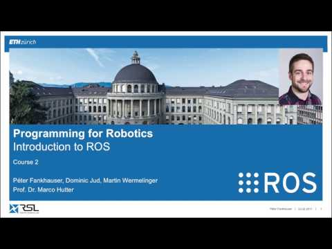 Programming for Robotics (ROS) Course 2