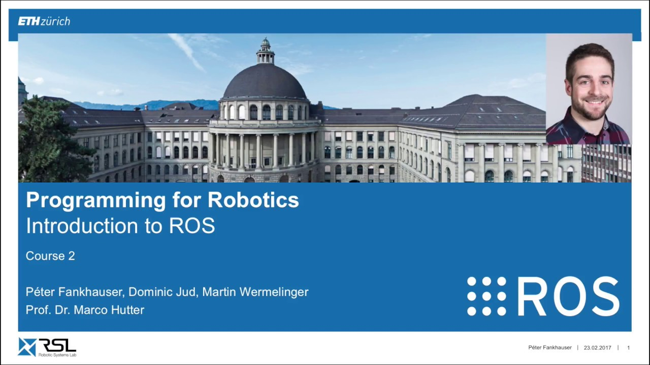 Programming for robotics: Introduction to ROS | Robohub