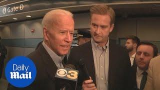 Former VP Joe Biden states Obama will not endorse him in election