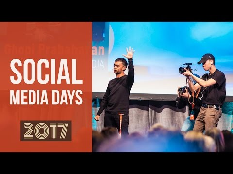 Social Media Days Conference Ghopi Prabaharan Keynote ∣ Oslo 2017