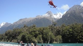 Jet Boating the Hollyford - Fiordland New Zealand
