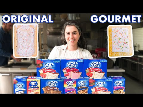 Pastry Chef Attempts to Make Gourmet Pop-Tarts | Gourmet Makes | Bon Appétit