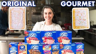 Pastry Chef Attempts to Make Gourmet Pop-Tarts | Gourmet Makes | Bon Apptit