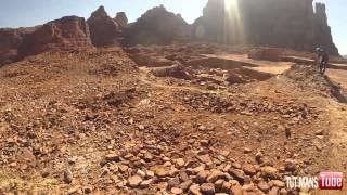 شاهد بالصور والفيديو .. الصخرة التي خرجت منها ناقة صالح