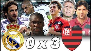 Real Madrid 0 x 3 Flamengo * Torneio Palma de Mallorca 1997 * Sávio, Renato Gaúcho e cia