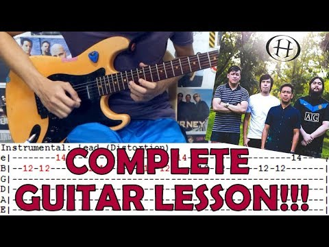Blue Sky - Hale (Complete Guitar Lesson/Cover)with Chords and Tab