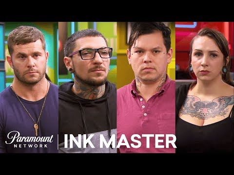 Fighting for the Finale - Tag Team Tattoo: Elimination Tattoo   Ink Master: Shop Wars (Season 9)