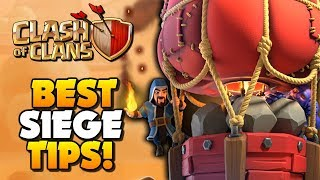 How to use the STONE SLAMMER - Best Siege Machine at Town Hall 10 | Clash of Clans