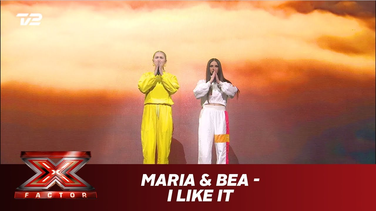 Download Maria & Bea synger 'I Like It' - Cardi B feat. J. Balvin & Bad Bunny (Live) | X Factor 2019 | TV 2