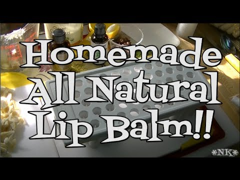 Homemade All Natural, Lip Balm!! Noreen's Kitchen