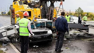 Romania battered by deadly storm
