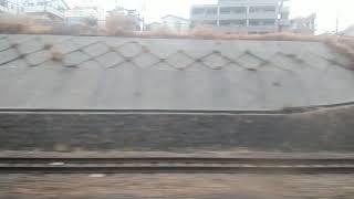 山陽電車5000系vsJR西貨物 併走バトル 明石~舞子公園間