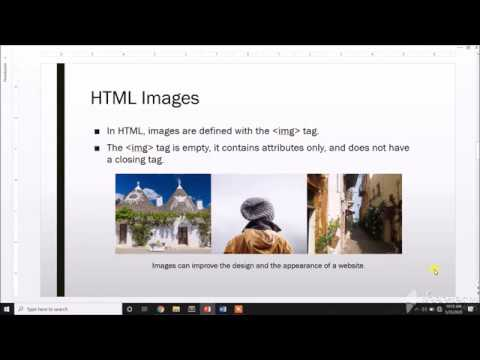 HTML Tutorial 3 - Links And Images