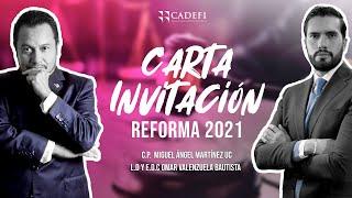 Cadefi - Carta Invitación Reforma 2021 - 12 de Febrero 2021