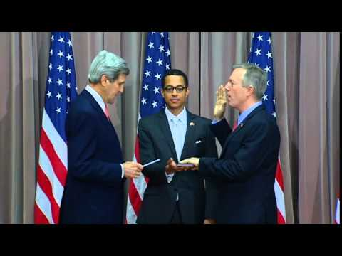 Secretary Kerry at the Swearing-In Ceremony for U.S. Ambassador to Vietnam Ted Osius