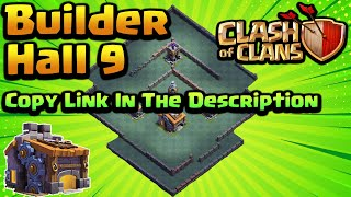 *NEW* BEST BUILDER HALL 9 BASE w/ Replays (BH9) 2019 - Clash of Clans with Link
