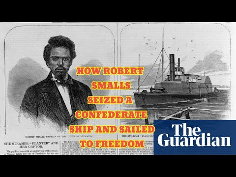 How Robert Smalls Seized A Confederate Ship and Sailed to Freedom!!! B2AR!