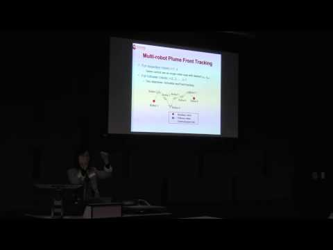"Yi Guo - ""Multi-robot Cooperative Tracking of Dynamic Ocean Plume"""