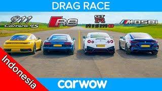 911 Baru vs GT-R NISMO vs Audi R8 vs BMW M850i - DRAG RACE, ROLLING RACE & TES PENGEREMAN