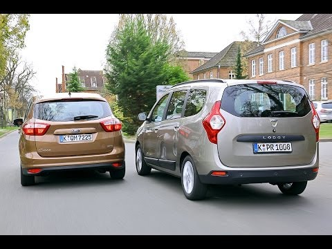 Dacia Lodgy vs Ford C Max
