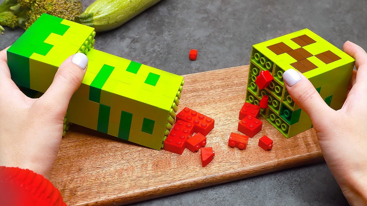 How To Create MINECRAFT In Real Life   ASMR & Stop Motion Video